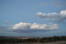 Clouded Over Boulder