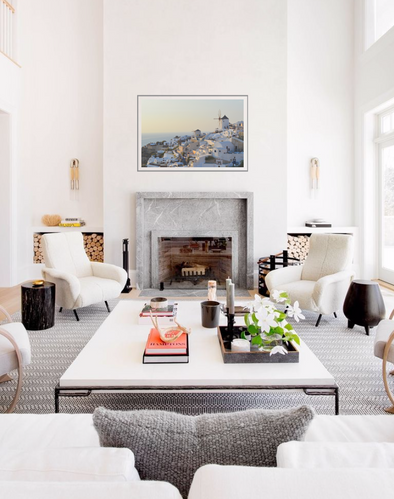 """""""White Sunset"""" in a room"""