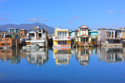 Floating Home Reflections