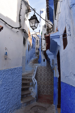 Stairs of Blue