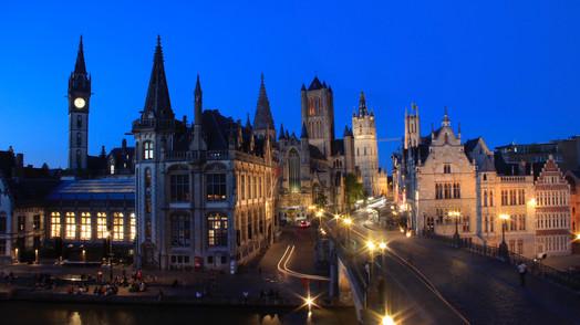 Sint-Michielsbrug Sunset