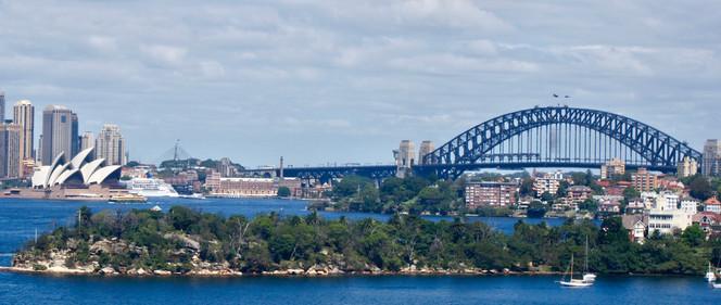 A Postcard of Sydney