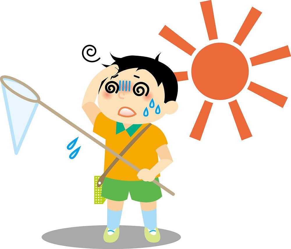 熱中症 熱疲労 酷暑