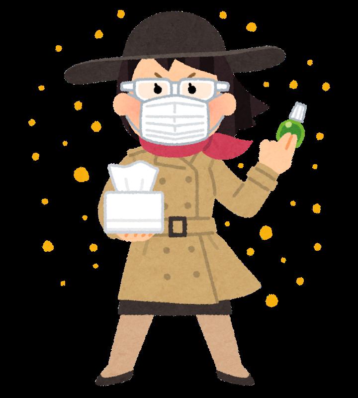 花粉 黄砂 PM2.5 ツボ 鍼灸