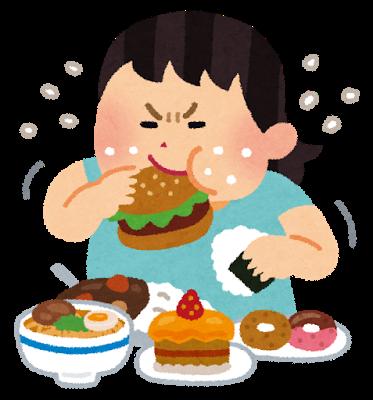 食べ過ぎ 満腹 肥満 病気 食事