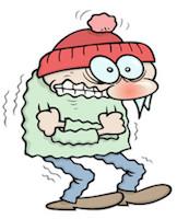 冷え性 寒い 筋肉