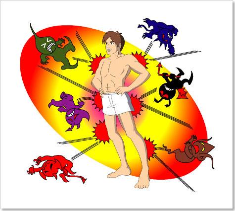 防衛体力 免疫力 ウイルス