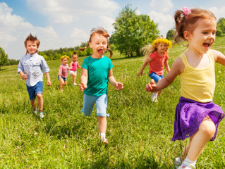 5歳児のエネルギー