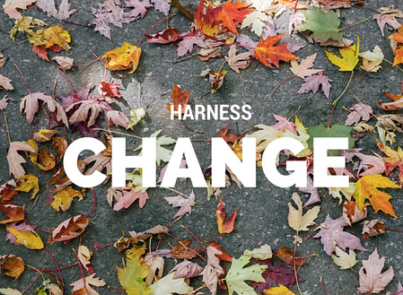 Harness the Forces of Change