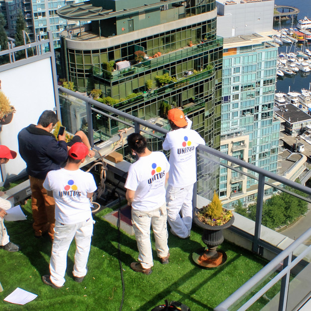 Downtown Vancouver Strata balcony work