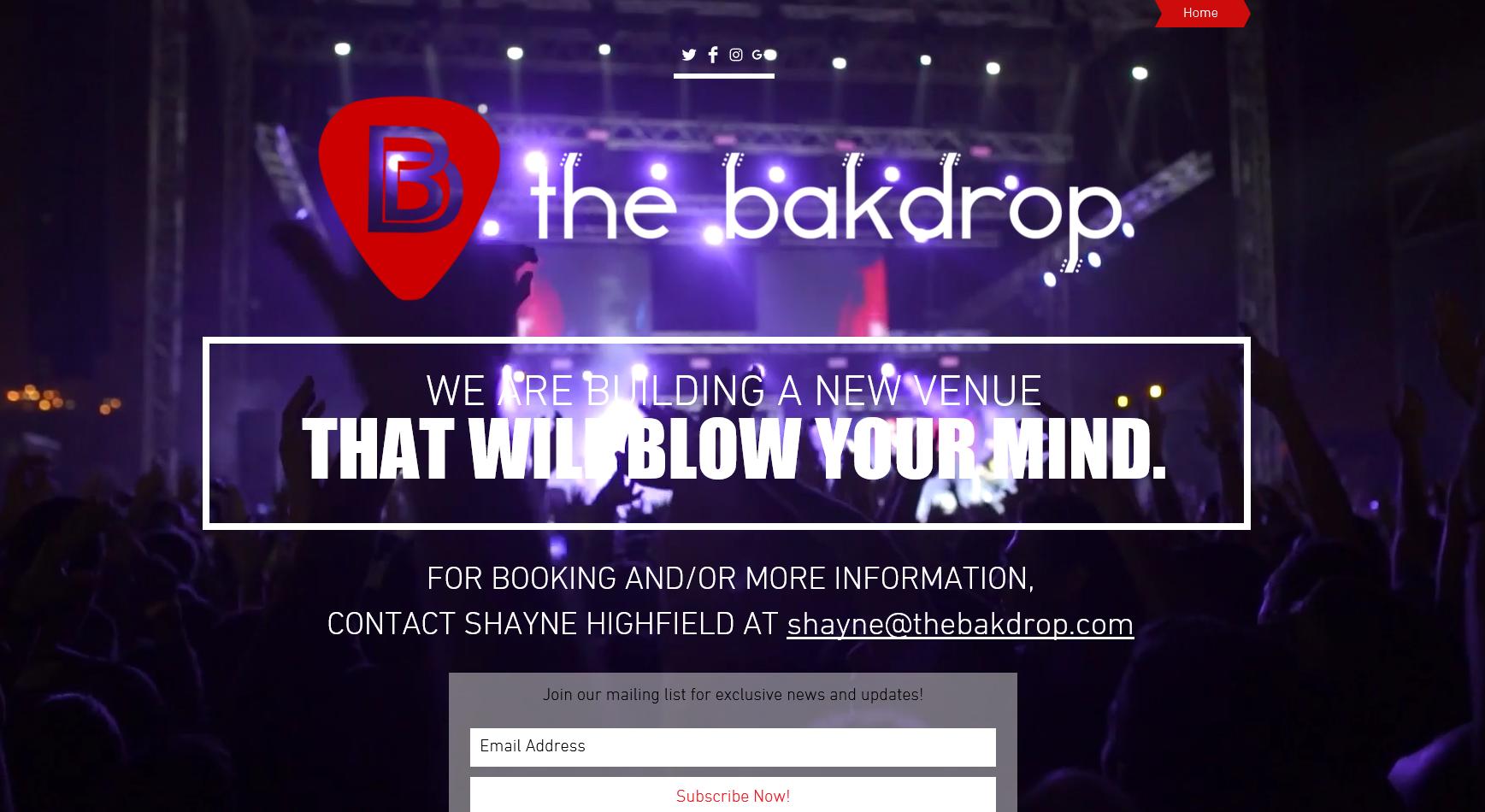 thebakdrop.com