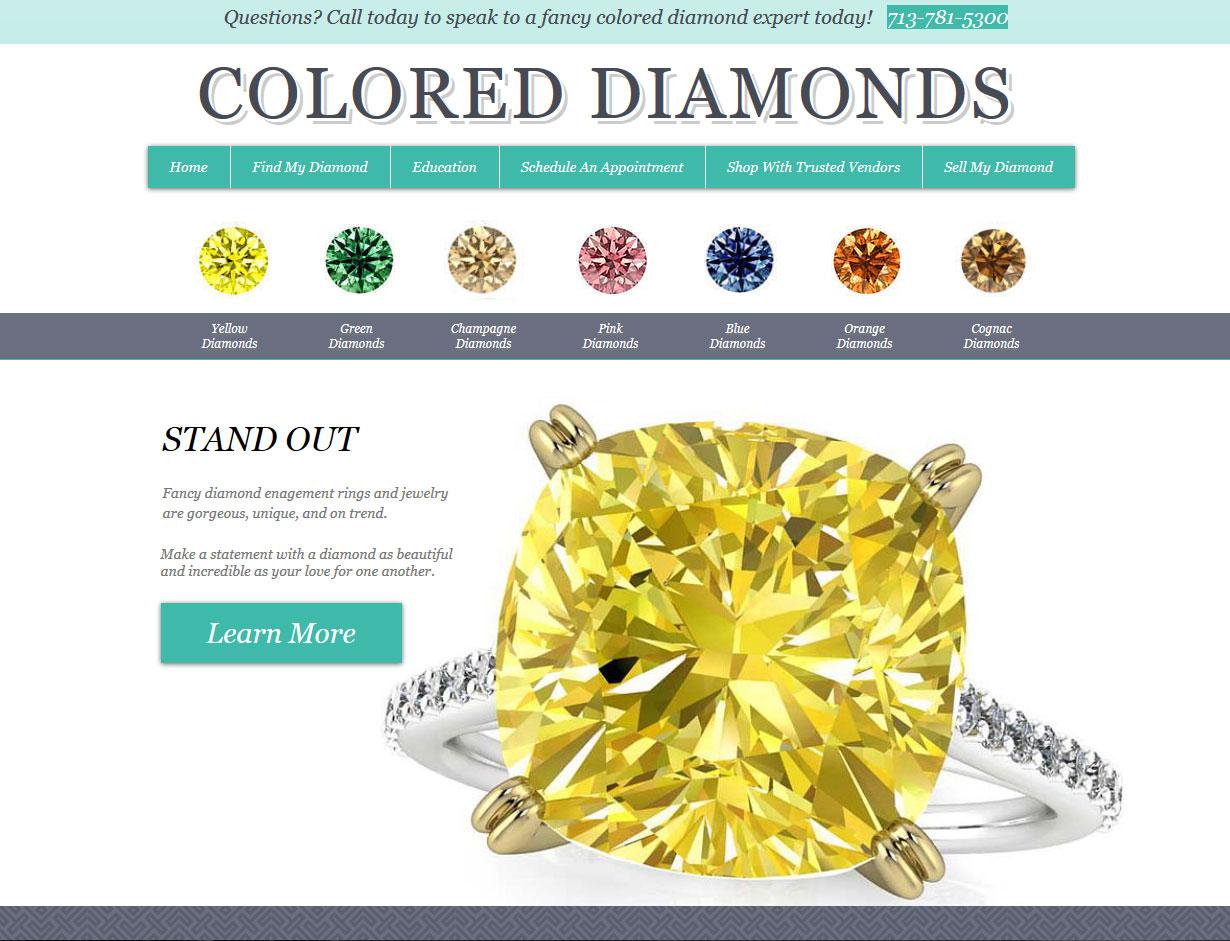 ColoredDiamonds.com