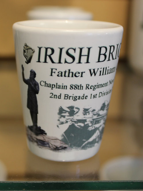 Father William Corby Shot Glass