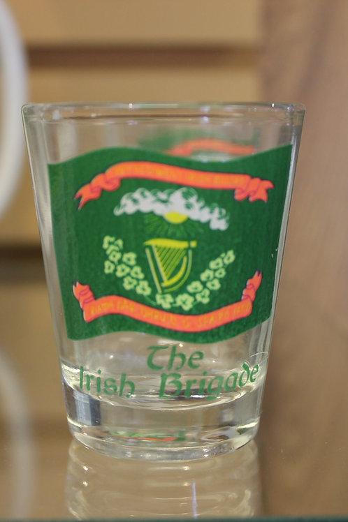1st Model Irish Brigade Flag Shot Glass