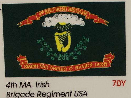28th Massachusetts 1st Model Regiment Flag