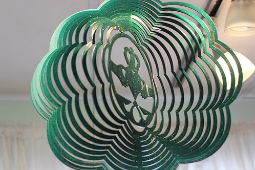 Claddagh Wind Spinner