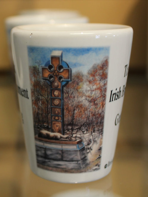 Apparition at the Irish Brigade Monument Shot Glass