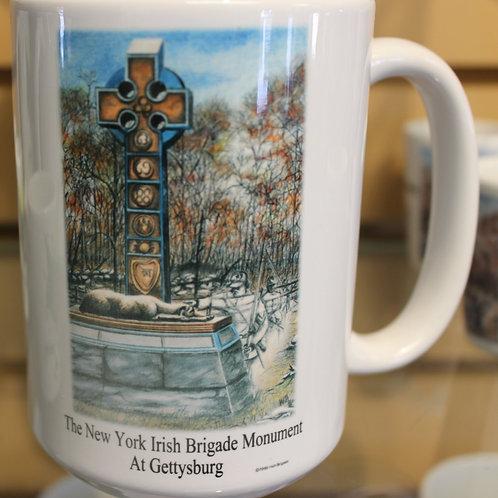 Apparition at the Gettysburg NY Irish Brigade Monument Mug