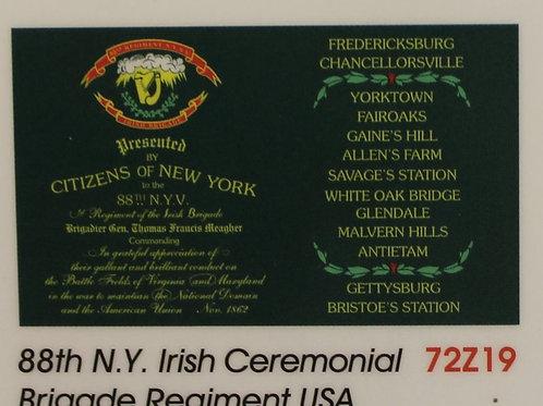 69th New York 2nd Model Regimental Flag