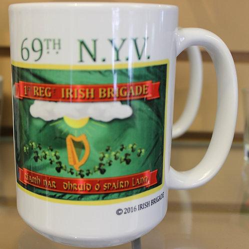 69th New York 1st Model Flag Mug