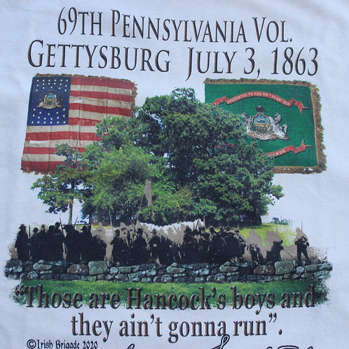 69th Pennsylvania Vol T-shirt- SHORT SLEEVE