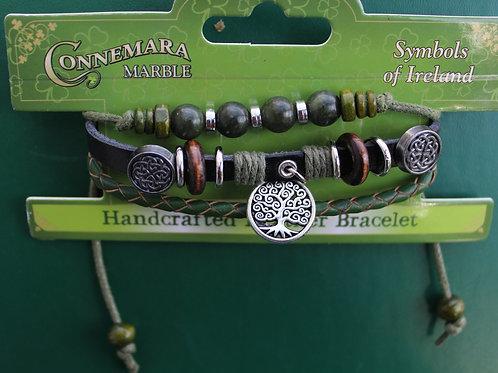 "Handcrafted Tree of Life ""Hippie"" Bracelet"