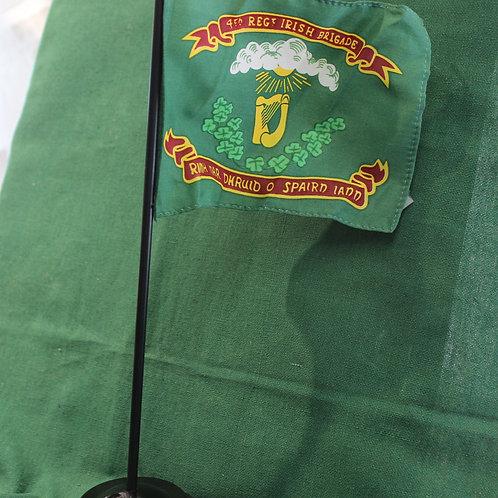 Desk Flag- 28th Mass. Regt Flag-4th Regt.