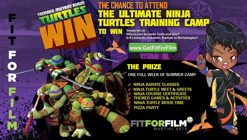 Ninja Turtle Summer Camp