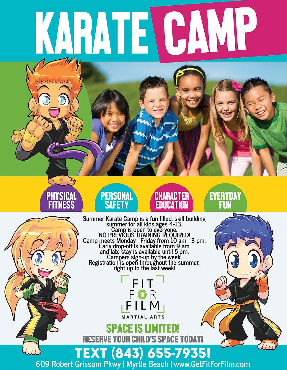 FFF Karate Summer Camp