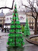 arbre noel bouteilles plastique.jpg