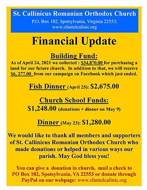 Fundraising campain