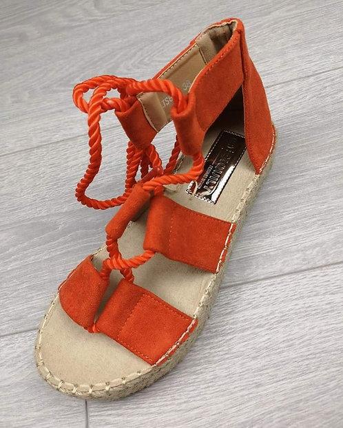 Sandales oranges