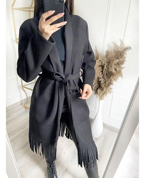 Manteau à franges
