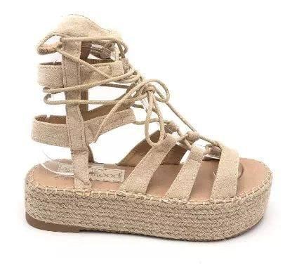Sandales beige