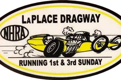 LaPlace Dragway Sticker