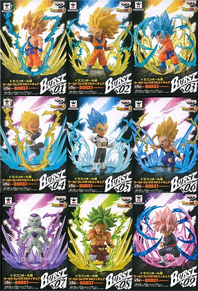 Banpresto Dragon Ball SUPER: World Collectible Figure (WCF)  BURST Collection
