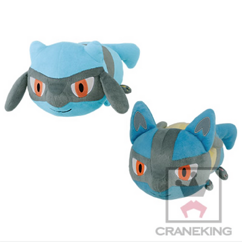 Pocket Monsters Big Koroto Soft Plush ~ Riolu & Lucario Set