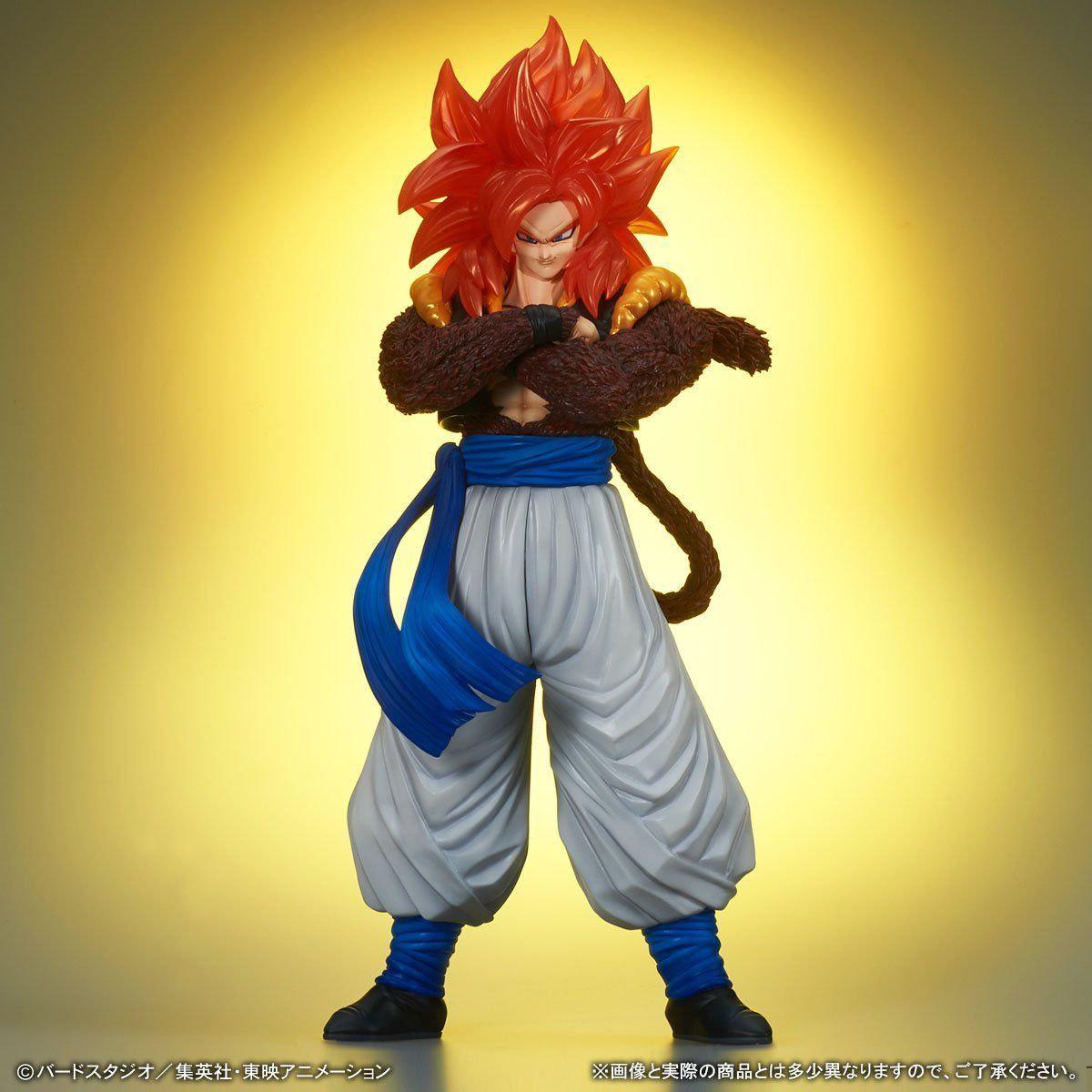 X Plus Gigantic Series Dragon Ball Gt Ss4 Gogeta