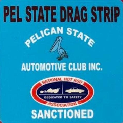 Pel-State Dragway Sticker