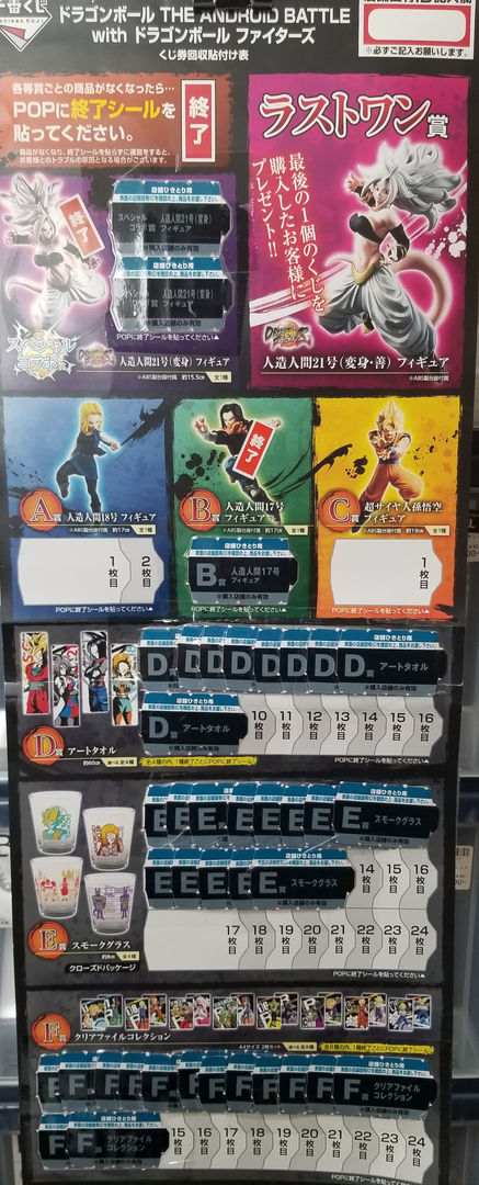 Ichiban Kuji Dragon Ball The Android Battle with Dragon Ball Fighters