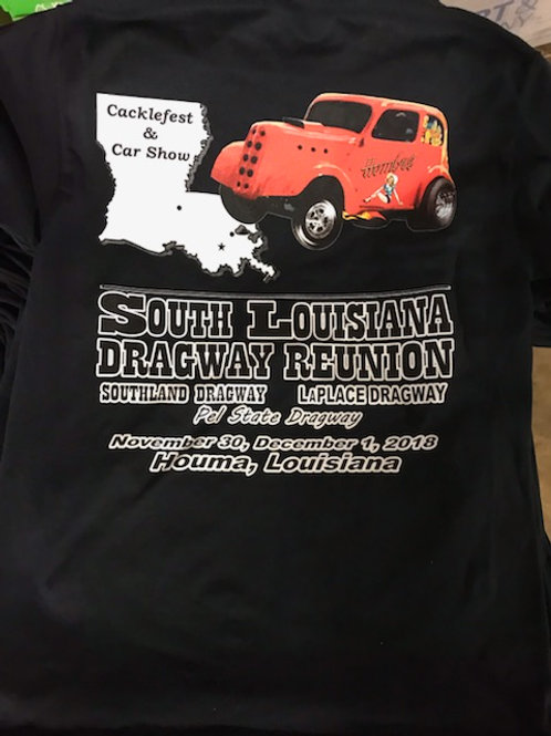 Black Event Shirt, Red Hombre Anglia