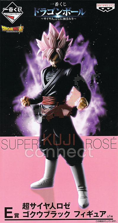 Ichiban Kuji: Dragon Ball Super: 'E' Prize Super Saiyan Rose Gokou Black Figure