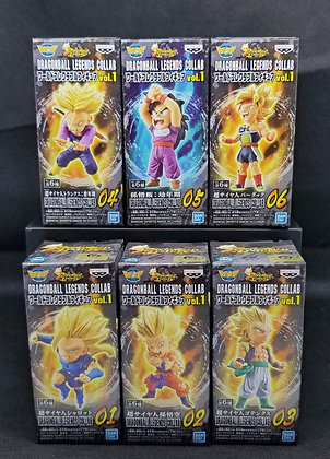 Dragon Ball Legends Collab World Collectible Figure Vol.1 Set