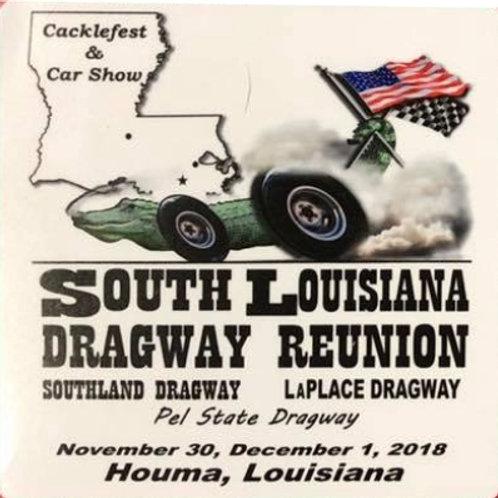 2018 Dragway Reunion Event Sticker