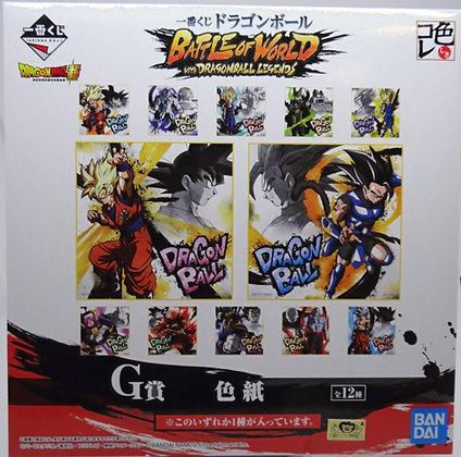 Dragon Ball: Battle of World w/ Dragon Ball Legends G Prize Shikishi Art