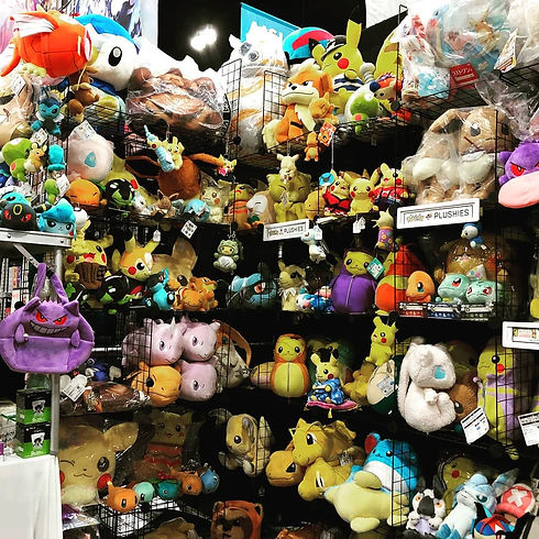 KUJIconnect Authentic Pokemon Plush Toy Wall Los Angeles Comic Con 2019