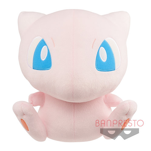 "Pokemon Mechadokoro Kottomaru Large Plush ""Flying Yubi"" Mew"