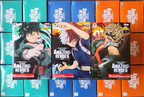 My Hero Academia THE AMAZING HEROES Vol. 1-3 Collection