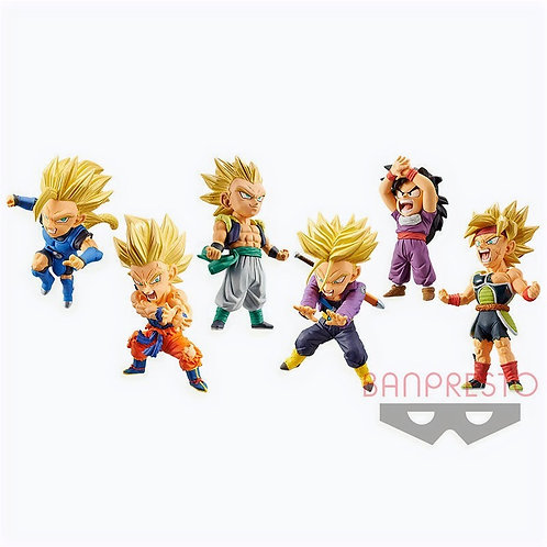 Dragon Ball Legends Collab World Collectible Figure Vol.1 Set