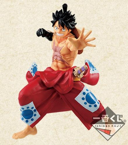 Ichiban Kuji: One Piece Takumi No Keifu: A賞 Luffy D. Monkey Figure